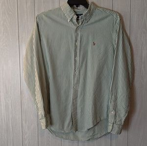 EUC Ralph Lauren classic fit men's shirt sz L